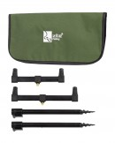Zite Fishing Rod Rest Rutenhalter-Set mit Tasche